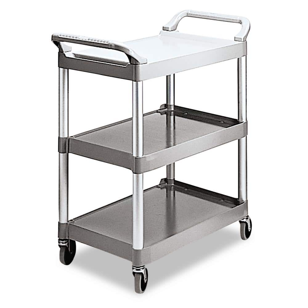 Rubbermaid Commercial Products Utility Cart Rcp342488pm The Home Depot