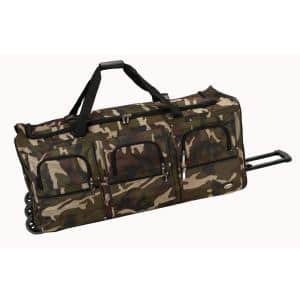 Voyage 40 in. Rolling Duffle Bag, Camo