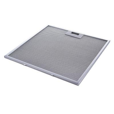 13.56 in. x 13.69 in. Aluminum Mesh Grease Filter for Range Hood with Stainless Steel Frame