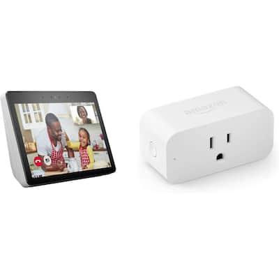 Echo Show Plus Smart Plug in Sandstone (Gen 2)