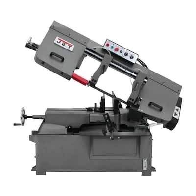 10 in. x 14 in. 1 HP, 230-Volt/460-Volt Metalworking Horizontal Mitering Bandsaw 3Ph
