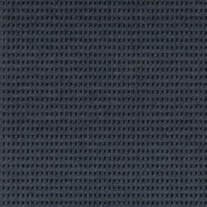 First Impressions Tattersall Denim w/ Blk 24 in. x 24 in. Commercial Peel and Stick Carpet Tile (15-tile / case)