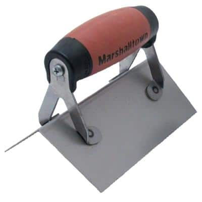 6 in. x 2-1/2 in. Outside Corner Finishing Trowel with 1/2 in. Radius Durasoft Handle
