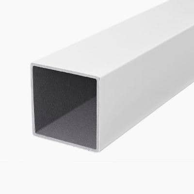 ArmorGuard 4 in. x 4 in. x 40 in. White Composite Post Sleeve
