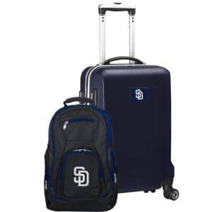 San Diego Padres Deluxe 2-Piece Backpack and Carry-On Set