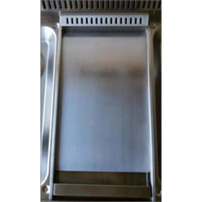 48 in. Gas Range Top in Stainless Steel with 6 Burners Including Power Burners and Griddle