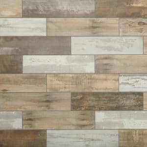 Montagna Wood Vintage Chic 6 in. x 24 in. Porcelain Floor and Wall Tile (392.31 sq. ft. / pallet)