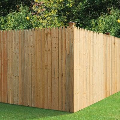 1/2 in. x 4 in. x 6 ft. SPF Stockade Fence Picket (6-Pack)
