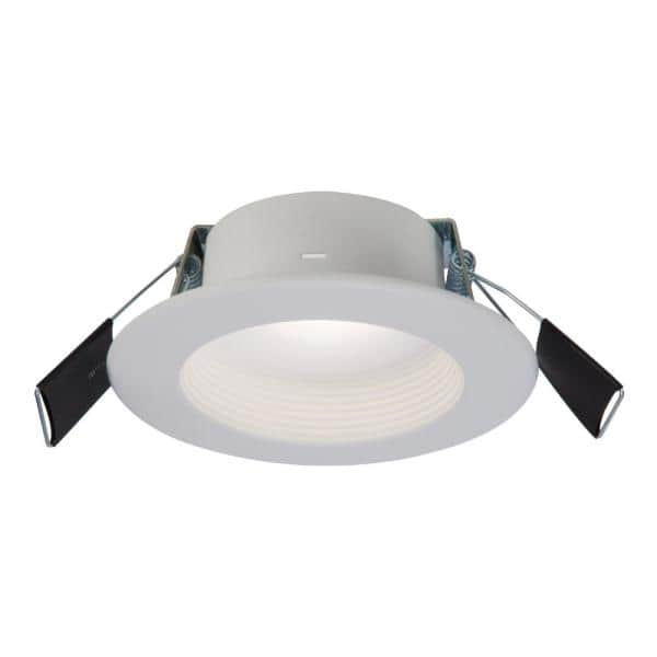 Halo Rl 4 In Color Selectable 2700k 5000k Remodel Canless Recessed Integrated Led Kit Rl4069s1ewhdmr The Home Depot