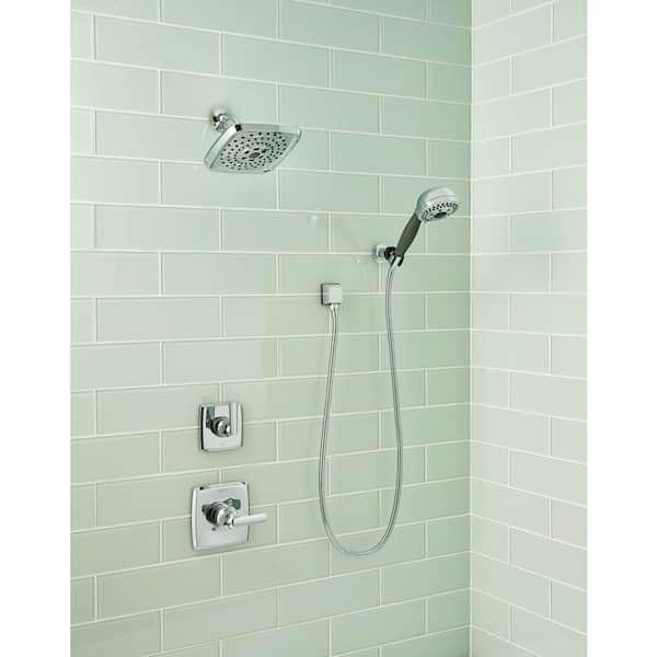 Msi Arctic Ice 4 In X 12 Mixed, Glass Subway Tile Bathroom