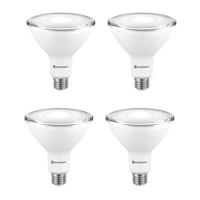 120-Watt Equivalent PAR38 Dimmable ENERGY STAR Flood LED Light Bulb Daylight (4-Pack)