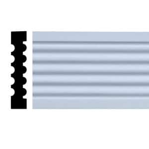 11/16 in. x 3-3/8 in. x 84 in. Primed Pine Finger-Jointed Casing Set (7-Piece)