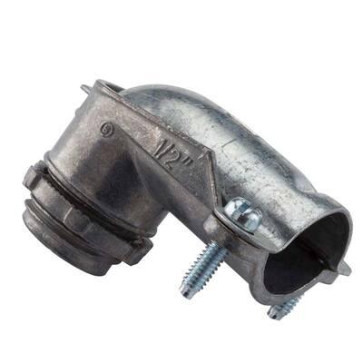 1/2 in. 90-Degree Flexible Metal Conduit (FMC) Connector