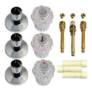 Tub and Shower Rebuild Kit for Sterling 3-Handle Faucets