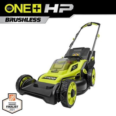 ONE+ HP 18V Brushless 16 in. Cordless Battery Walk Behind Push Lawn Mower (Tool Only)