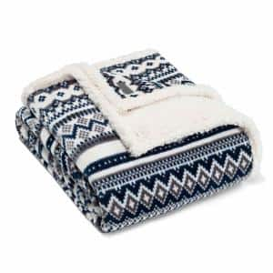 60 in. x 70 in.  Shelton Throw