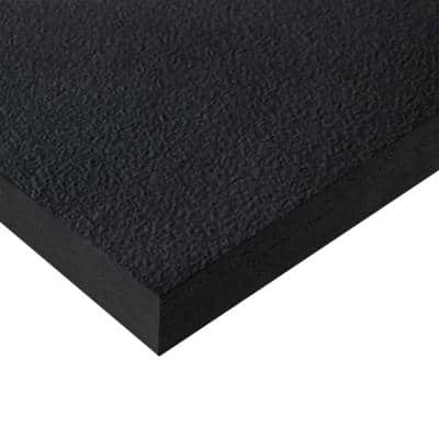 Black 2 ft. x 2 ft. Square Edge Fiberglass Ceiling Tile (1 pallet contains 1,920 sq ft)