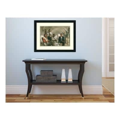 """19 in. H x 25 in. W """"The Pioneers"""""""" Framed Print Wall Art"""