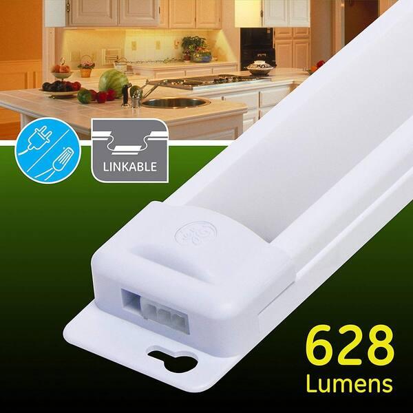 Ge 18 In Premium Linkable Led Under, Ge Led Under Cabinet Lighting