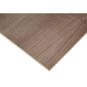 1/2 in. x 4 ft. x 4 ft. Europly Walnut Plywood Project Panel (Free Custom Cut Available)