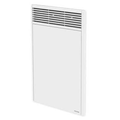 Orleans High 18 in. x 27-7/8 in. 1000-Watt 240-Volt Forced Air Electric Convector in White with Built-in Thermostat