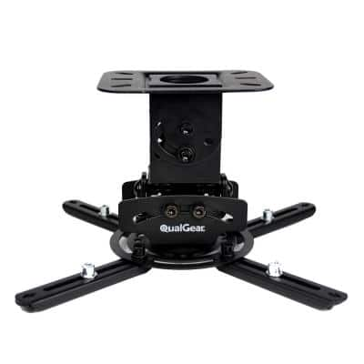 Universal Low-Profile Ceiling Mount Projector, Black