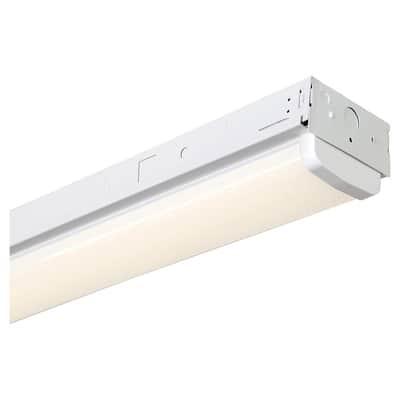 8 ft. 1000-Watt Equivalent White Integrated LED MV 14,000-Lumen Linear Strip Light
