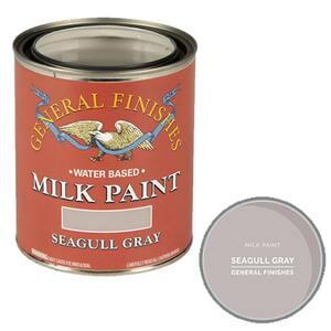1-qt. Seagull Gray Interior/Exterior Milk Paint