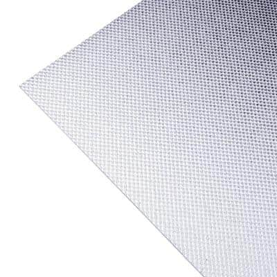 Acrylic Micro Prism Glaze 2 ft. x 4 ft. Lay-in Ceiling Light Panel