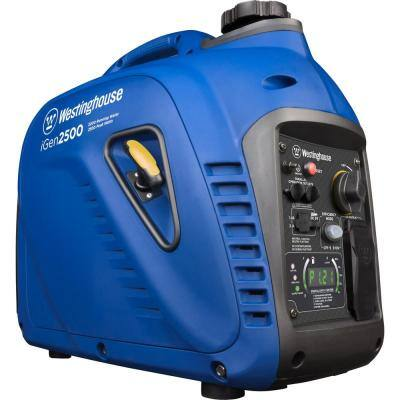 2,500-Watt/2,200-Watt Super Quiet Gas Powered Inverter Generator with LED Display and Enhanced Fuel Efficiency