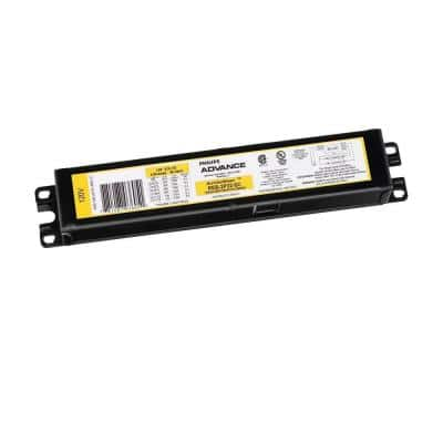 AmbiStar 120-Volt 1 or 2-Lamp T8 Instant Start Residential Electronic Fluorescent Replacement Ballast