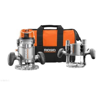 11 Amp 2 HP 1/2 in. Heavy-Duty Fixed and Plunge Base Corded Router