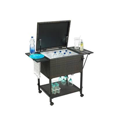 80 Qt. Cooler Cart