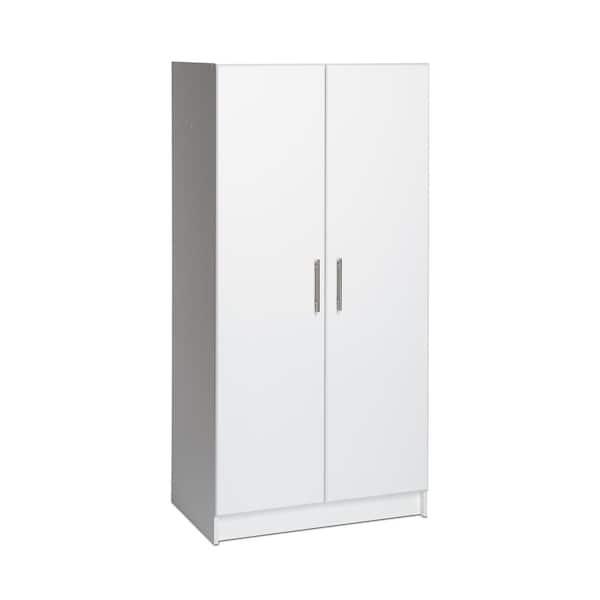 Prepac Wood Freestanding Garage Cabinet, Wardrobe Cabinet Home Depot