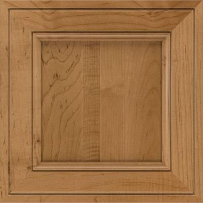 Blakely 14 1/2 x 14 1/2 in. Cabinet Door Sample in Maple Palomino