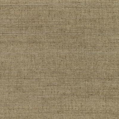 Kansu Brown Sisal Grasscloth Wallpaper Sample