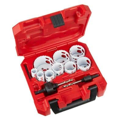 Hole Dozer General Purpose Bi-Metal Hole Saw Set (13-Piece)
