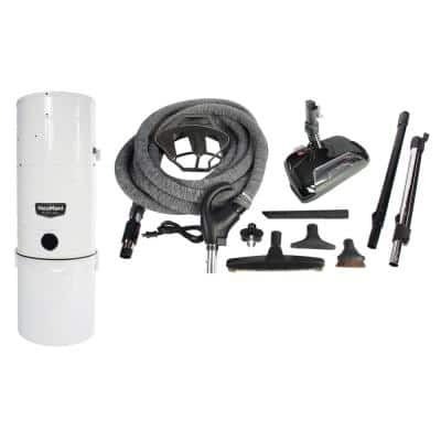 Central Vacuum and Complete Attachment Kit