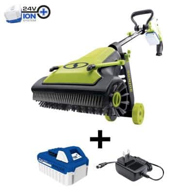 24-Volt iON+ Cordless Patio Cleaner Kit with 4.0 Battery + Charger