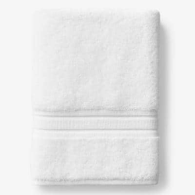 Company Cotton White Solid Turkish Cotton Bath Sheet