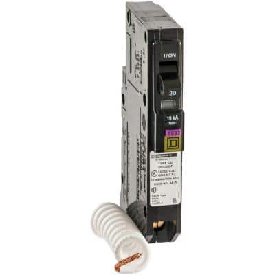 QO 20 Amp Single-Pole Dual Function (CAFCI and GFCI) Circuit Breaker (9-pack)