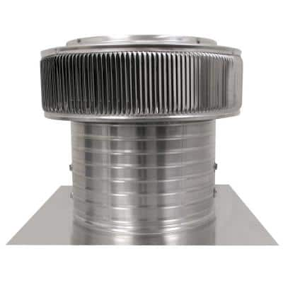 800 CFM Power Mill 12 in. Dia Aura Attic Fan with 8 in. Collar