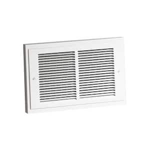 14-19/64 in. x 9-19/64 in. 1,000-Watt Wall Heater in White