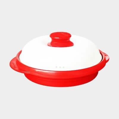 Rangemate Microwaveble Ceramic Aluminum Energy Saving Indoor Cooker made in Korea Roast Pan