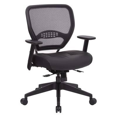 Air Grid Black Air Back Managers Chair