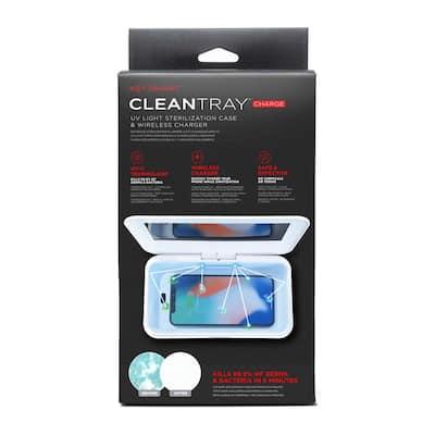 Wireless Charging Case with UV Light Sterilizer