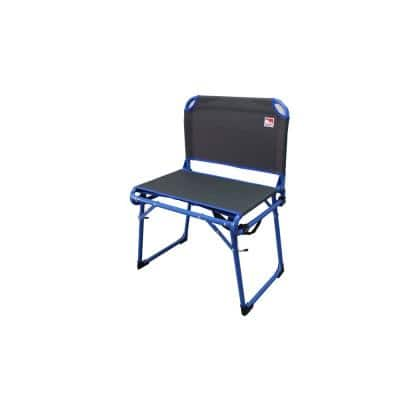 225 lbs. Capacity Wide Fold and Go Stadium Seat for Bleachers Convertible Low Profile Camping Chair