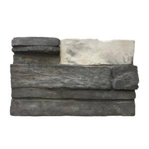 Northern Gray 6 in. x 8 in. Mortarless Stone Veneer Sample
