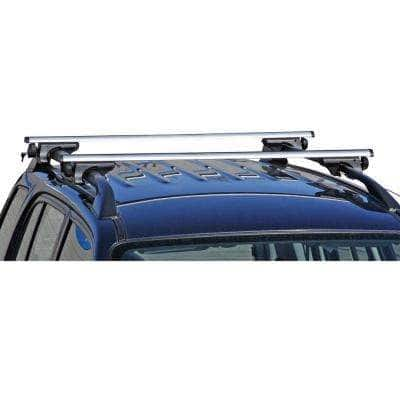 150 lbs. 53.375 in. Universal Aluminum Roof Rack Cross Bars