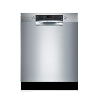 800 Series 24 in. ADA Front Control Tall Tub Dishwasher in Stainless Steel with Crystal Dry and 3rd Rack, 42dBA